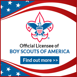 Cusotm Boyscouts of America apparel